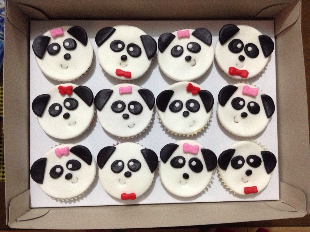 Cute Panda Cupcakes The Royal Chimney